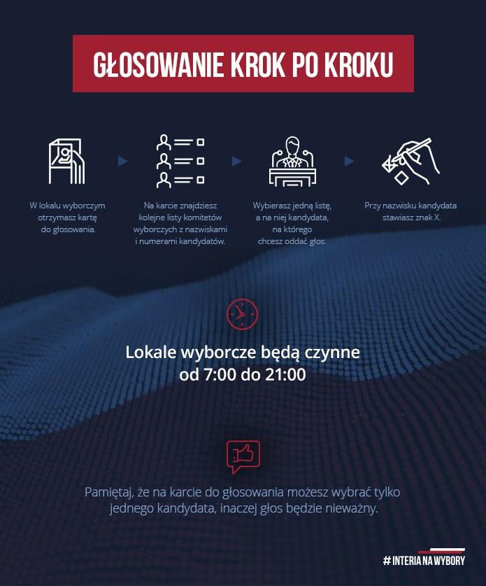 Jak głosować? /INTERIA.PL