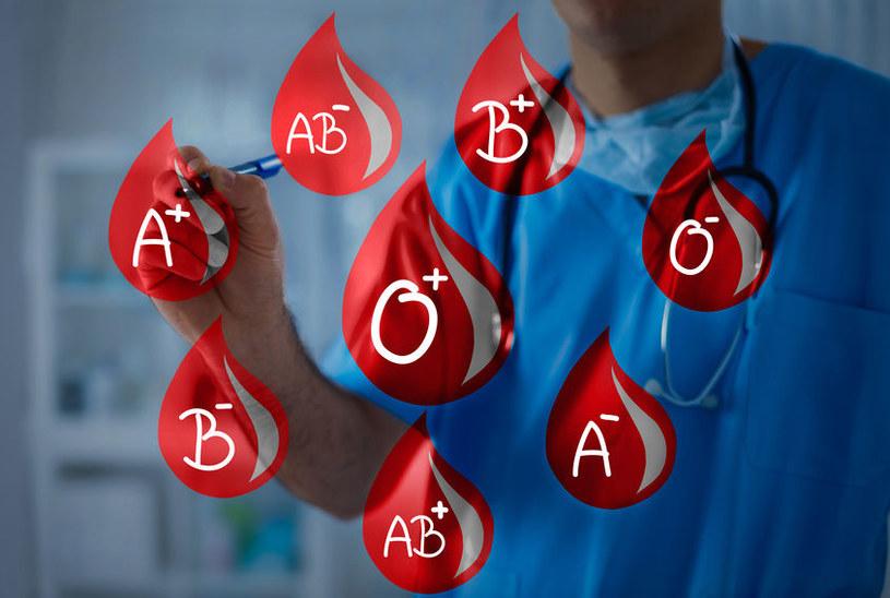 Jak grupa krwi wpływa na życie i związki? /©123RF/PICSEL