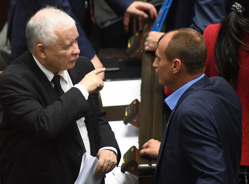 Jak idą rozmowy Kaczyńskiego z Kukizem? /Adam Chelstowski /Agencja FORUM