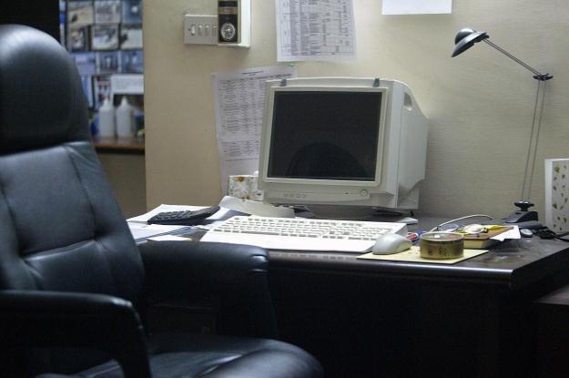 Jak ktoś nie pamięta - tak kiedyś wyglądały monitory /AFP