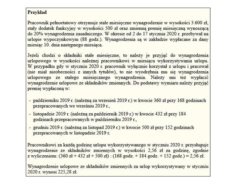 Jak liczyć wynagrpodzenie za urlop? /Gazeta Podatkowa