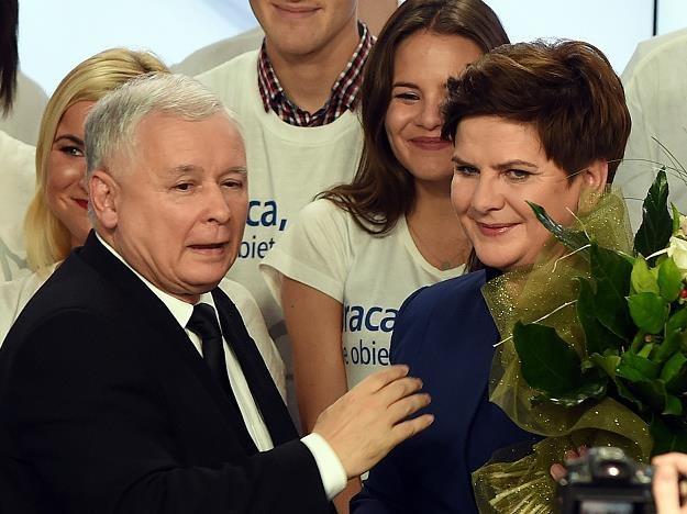 Jak może wyglądać Polska urządzona przez Kaczyńskiego? /AFP