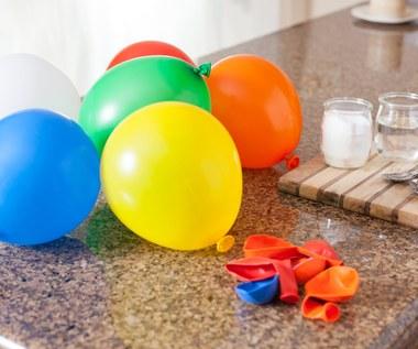 Jak napompować balony bez helu?