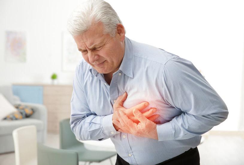 Jak objawia się niewydolność serca? /©123RF/PICSEL