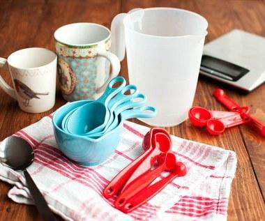 Jak odmierzać składniki bez wagi?
