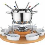 Jak podawać serowe fondue bez zestawu fondue?