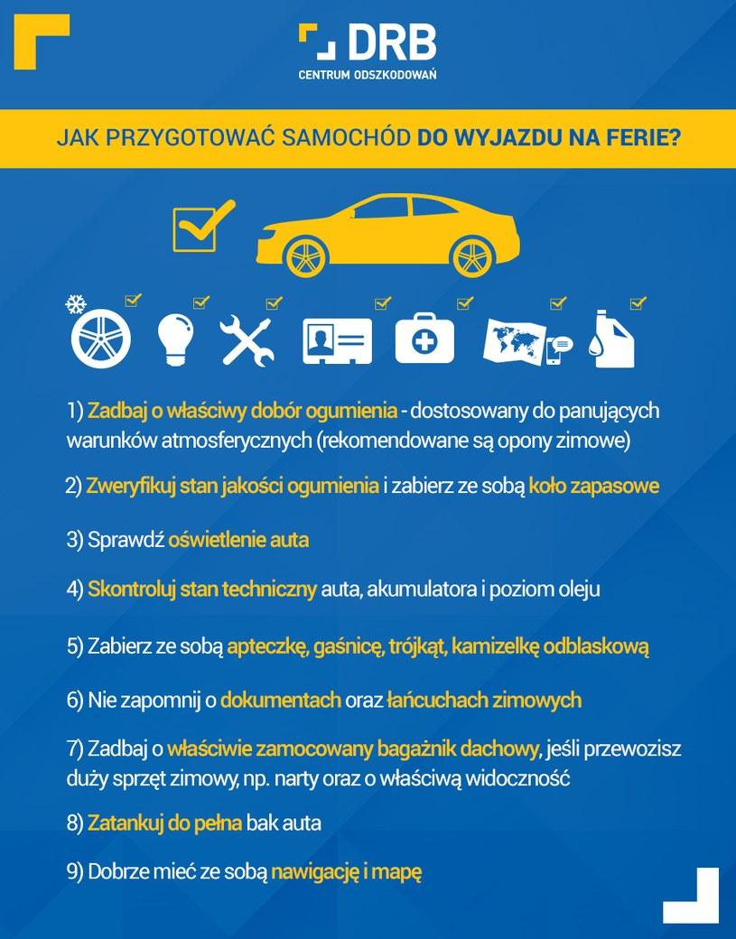 Jak przygotować samochód /materiały prasowe
