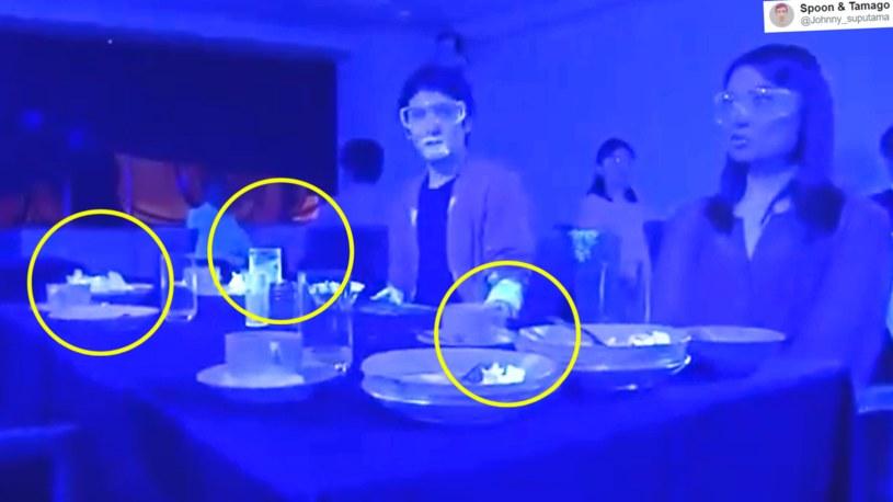 Jak szybką koronawirus może rozprzestrzenić się w restauracji? Wyniki eksperymentu są alarmujące /Twitter