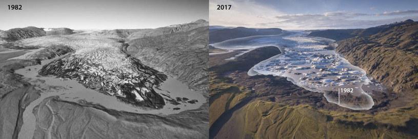 Jak tak dalej pójdzie, to lodowce Islandii mogą zniknąć do 2200 r. /Fot. Kieran Baxter /materiały prasowe