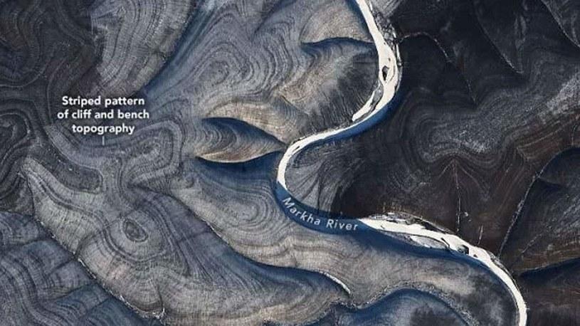Jak to możliwe, że ziemia układa się w taki sposób? /NASA