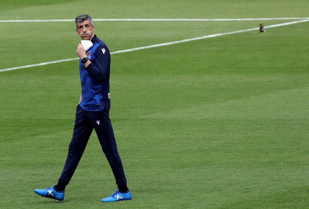 Jak trener Realu Sociedad cieszył się z wygranej? Nagranie hitem internetu