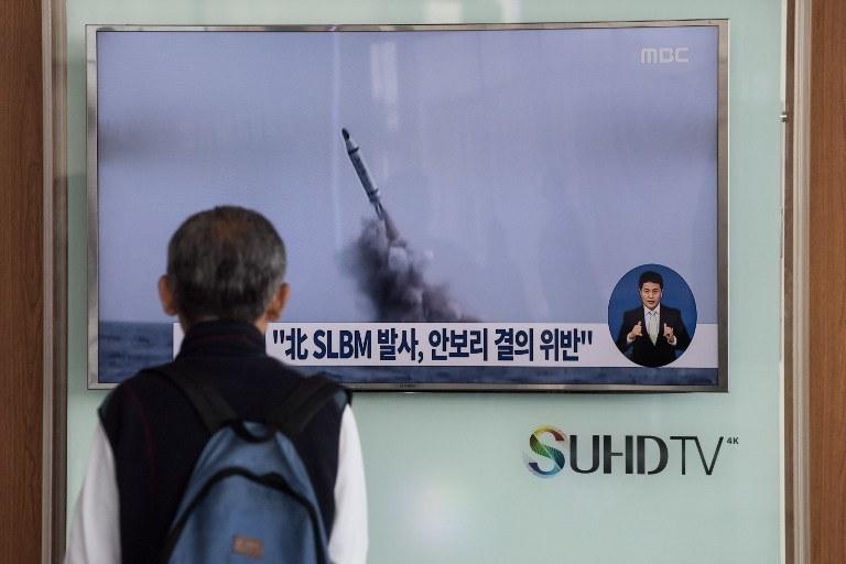 Jak twierdzą przedstawiciele władz USA i Korei Południowej, w kwietniu Korea Płn. trzykrotnie testowała rakietę Musudan / Zdj. archiwalne /STF / AFP /AFP