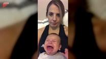 Jak uspokoić płaczące dziecko? Znalazła rozwiązanie