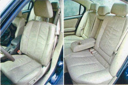 Jak w porządnej limuzynie: wygodne i obszerne siedzenia, na dodatek obszyte niezłej jakości i trwałą skórzaną tapicerką. /Motor