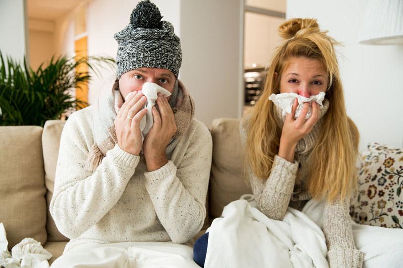 Jak walczyć z grypą i przeziębieniem? /©123RF/PICSEL