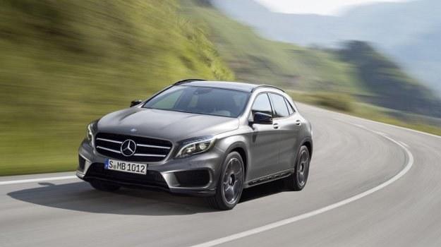 Jak wszystkie nowe Mercedesy - GLA wygląda agresywnie i świeżo. /Mercedes