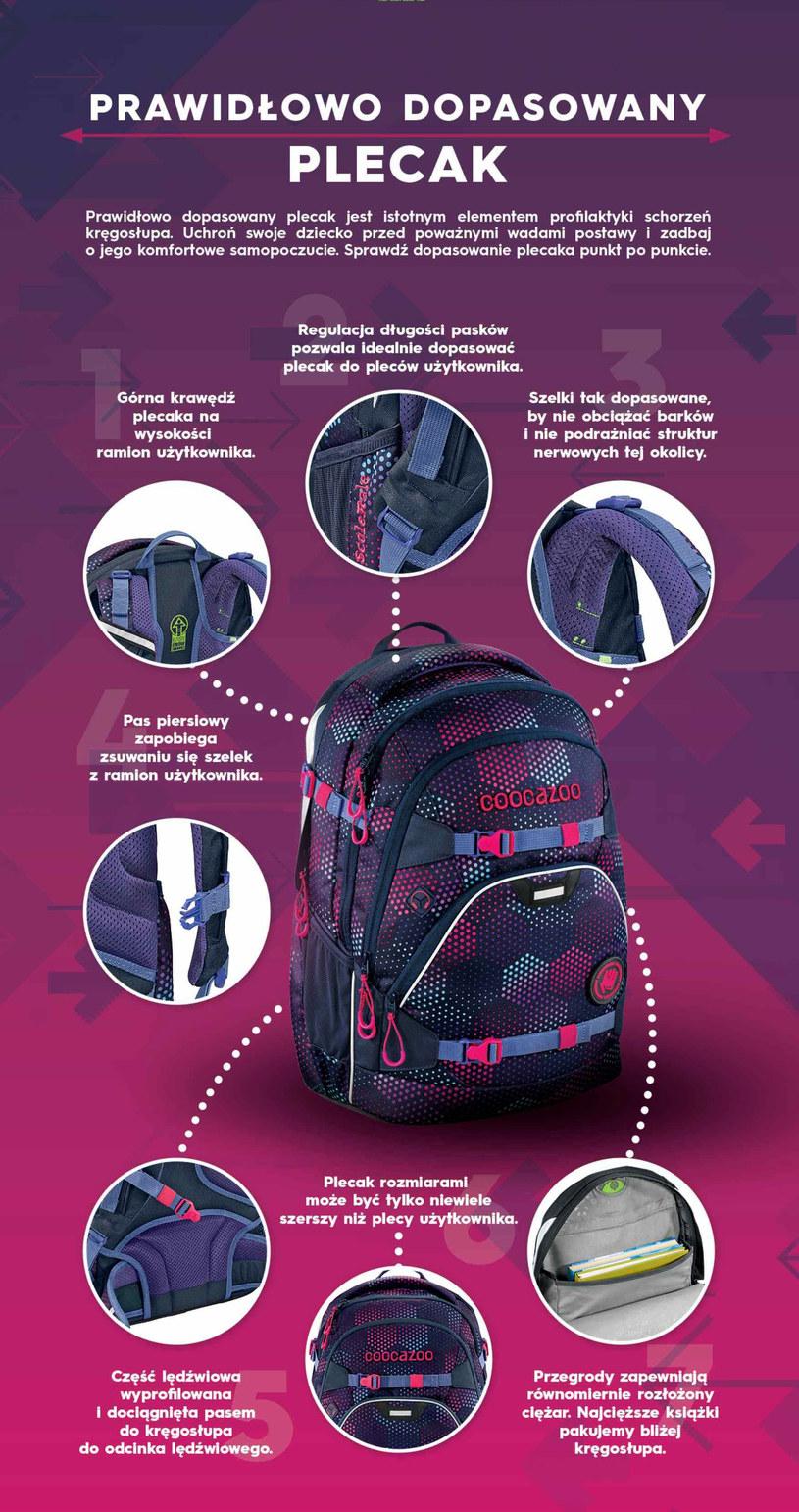 Jak wybrać dobry szkolny plecak /materiały prasowe