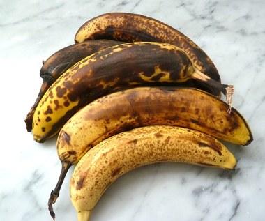 Jak wykorzystać przejrzałe banany?