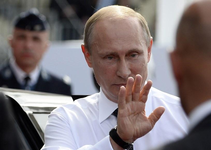Jak zareaguje na słowa prezydenta  Ukrainy Władimir Putn? /AFP