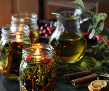 Jak zrobić aromatyczną świece oliwną?