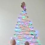 Jak zrobić dekorację z lampek choinkowych?