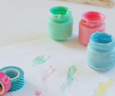 Jak zrobić farby dla dzieci do malowania palcami?