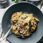 Jak zrobić makaron z grzybami