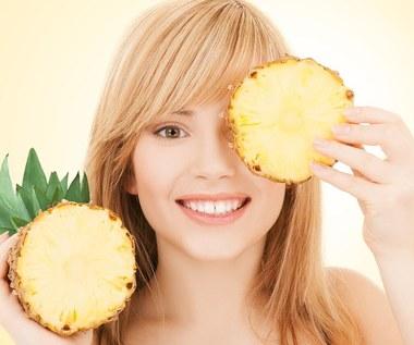 Jak zrobić maseczkę z ananasa?