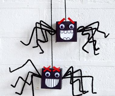 Jak zrobić pająka z pudełeczka?
