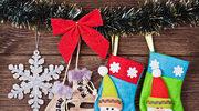 Jak zrobić świąteczną skarpetę