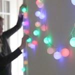 Jak zrobić świąteczne lampki z piłeczki pingpongowej