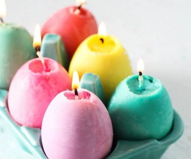 Jak zrobić świeczki w kształcie jajek na wielkanocny stół?