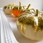 Jak zrobić złocone dynie na Halloween?