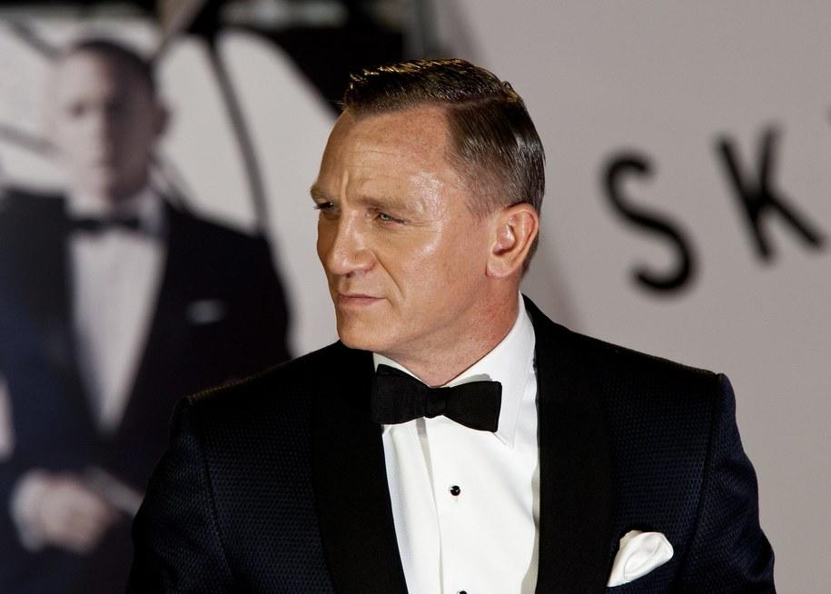 Jak zwykle elegancki Daniel Craig /John Phillips    /PAP/EPA