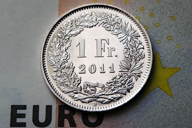 Jaka przyszłości dla franka? /AFP