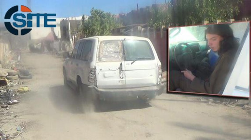 Jake Bilardi tuż przed zamachem w Iraku /AFP