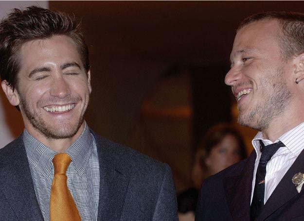 Jake Gyllenhaal i Heath Ledger /Getty Images/Flash Press Media