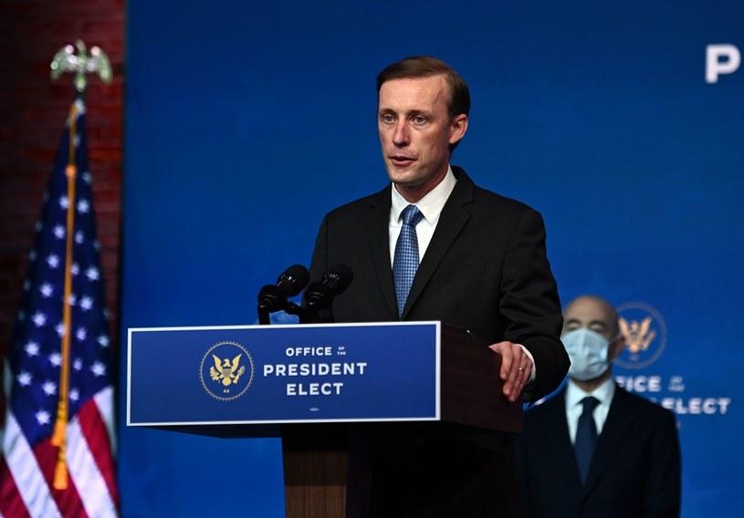 Jake Sullivan, doradca Joe Bidena do spraw bezpieczeństwa /Chandan Khanna /AFP