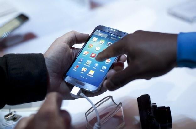 Jaki będzie następca Samsunga Galaxy S4? /AFP