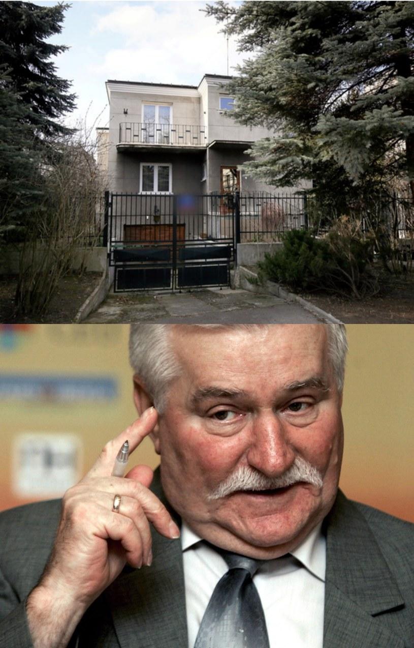 Jakie jeszcze dokumenty kryje dom panstwa Kiszczaków? /Paweł Supernak (dom)/JOSE SIMAL (Wałęsa) /PAP/EPA