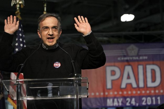 Jakie plany ma Marchionne? /AFP