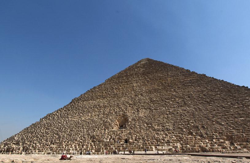 Jakie tajemnice skrywa Wielka Piramida Cheopsa w Gizie? /AFP