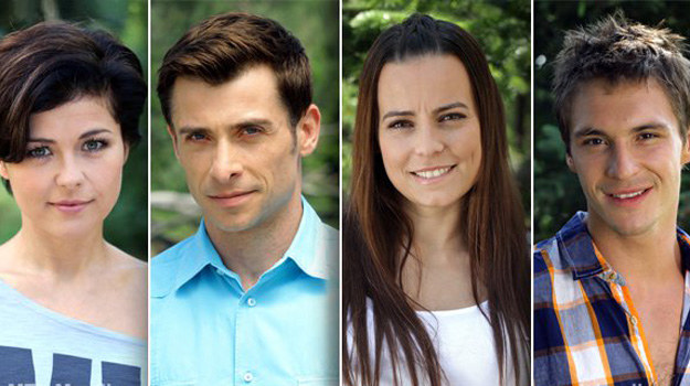 Jakimi dziećmi byli Kasia Cichopek, Anna Mucha, Mikołaj Roznerski i Kacper Kuszewski? /www.mjakmilosc.tvp.pl/