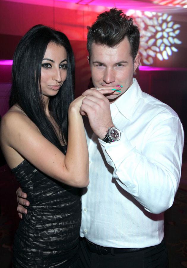 Jakiś czas temu Rutowicz na salony wprowadziła także swojego faceta.  /Paweł Wrzecion /MWMedia