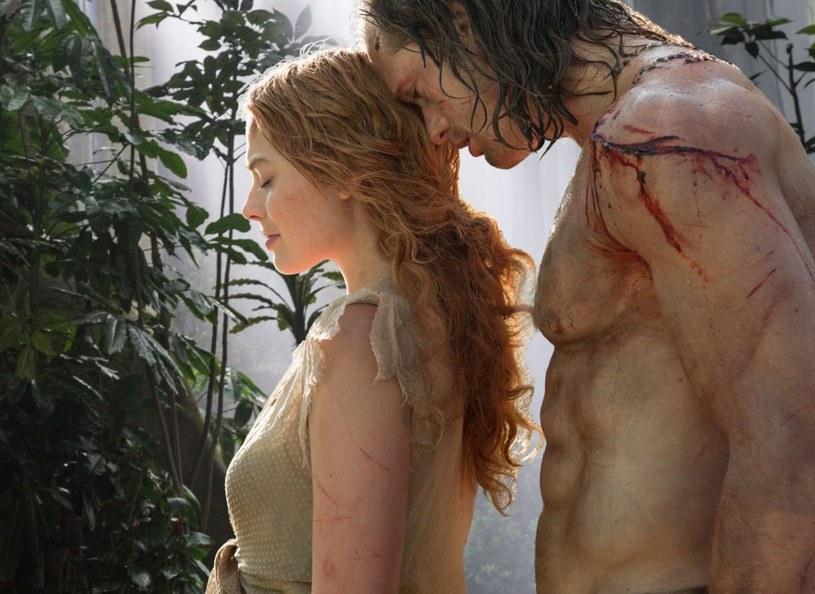 """Jako Jane Porter w filmie przygodowym """"Tarzan: Legenda"""" Davida Yatesa. Na planie partnerował jej Alexander Skarsgård /materiały prasowe"""