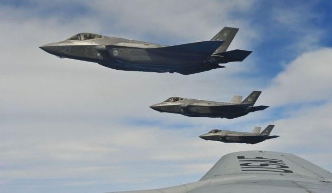 Jako jednego z kandydatów na nowy myśliwiec wielozadaniowy dla Sił Powietrznych wymienia się maszyny F-35. Fot. USAF /materiał zewnętrzny