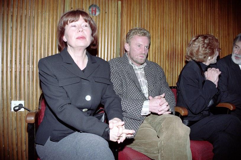 Jako młoda żona Daniela Olbrychskiego przezywała jego romanse /Agencja FORUM