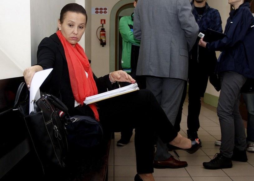 Jako oskarżyciel posiłkowy występowała Danuta Olewnik-Cieplińska, siostra Krzysztofa /Karolina Misztal /Reporter