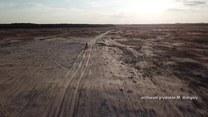 Jako pierwszy człowiek na świecie chce przejść pustynię Gobi