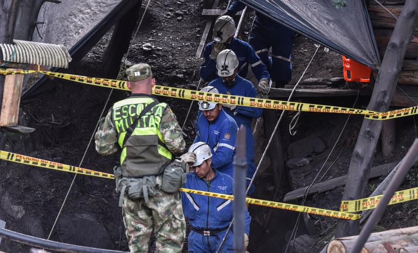 Jako przyczynę eksplozji wskazano wysokie stężenie metanu pod ziemią /AFP